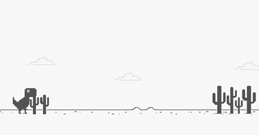 juego de dinosaurio de Google